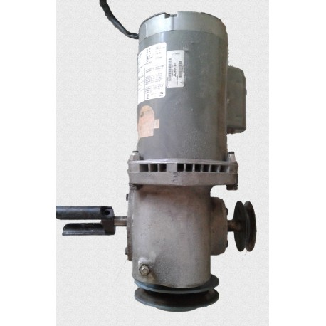 Gearbox and Motor, Back End, LH, 50Hz