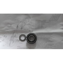 Straight Bore Bearing & Spacer Kit
